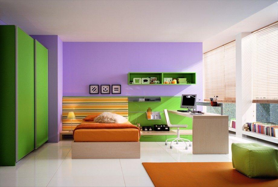 7 Inspiring Kid Room Color Options For Your Little Ones: Decoración De Dormitorios En DecoUtil